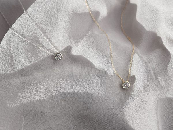 Floating Diamond Necklaces